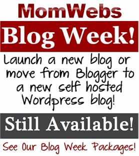 FREE Blog Training All Week at MomWebs Blog Week!
