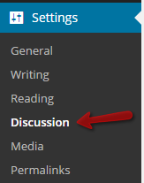 Building a Blog:  How to Configure Discussion Settings