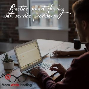 Sharing Passwords With Service Providers